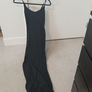 Forever 21 black maxi dress small